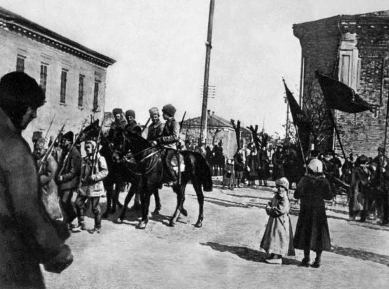 Вступ повстанців у Бердянськ