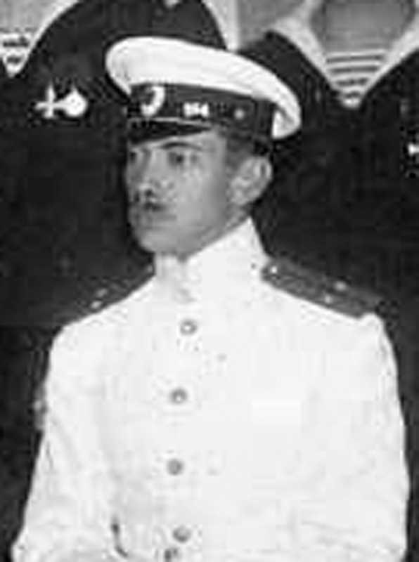 Капітан В.А.Мєркушов